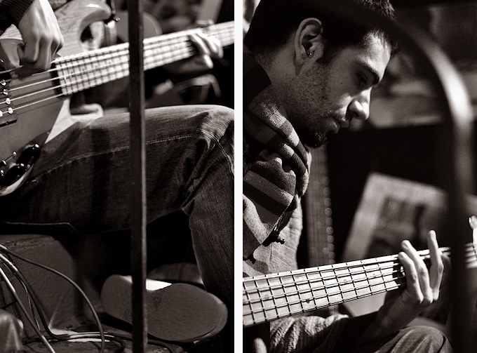 photo concert groupe musique rock basse